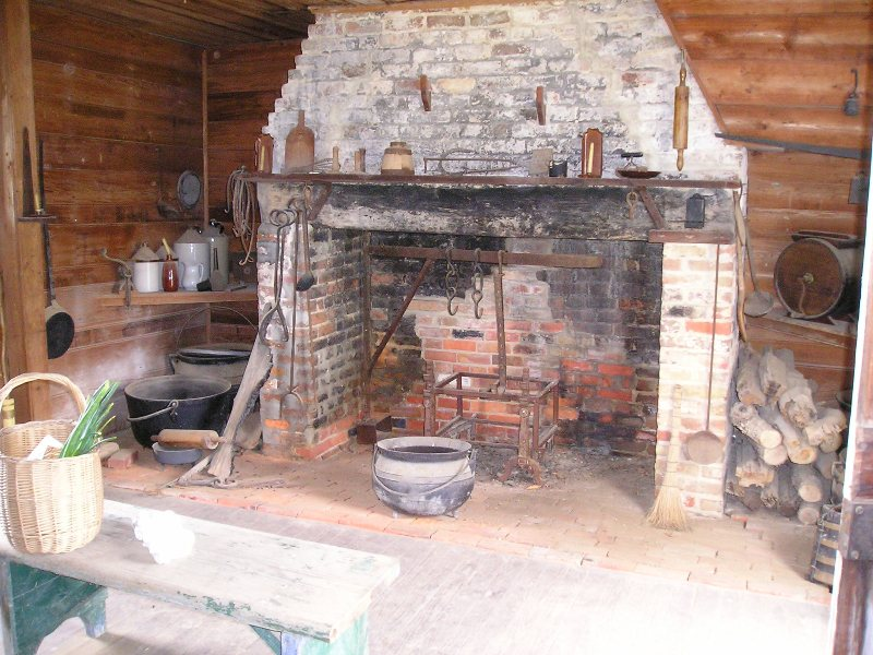 The Kitchen Fireside 18th Century History The Age Of