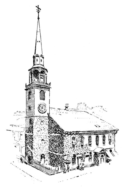 The Old South Church, Boston.