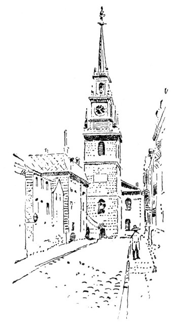 The Old North Church.