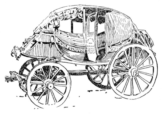 A Stage Coach of the Eighteenth Century