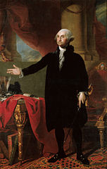 Official Presidential portrait of George Washington