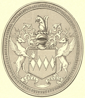 [Illustration: Seal of the Carterets.]