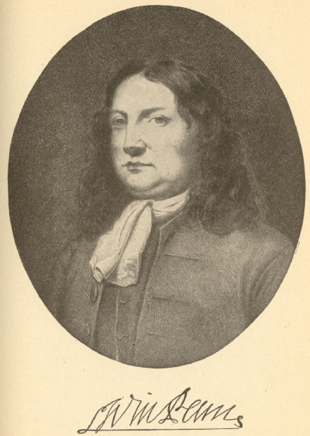 [Illustration: William Penn; From the copy by Francis Race in the National Museum, Philadelphia.]