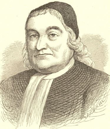 [Illustration: Chief Justice Sewall.]