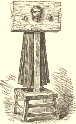 [Illustration: The Pillory.]